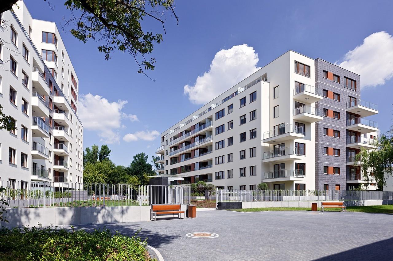 Apartamenty przy Krasińskiego - wejście na teren osiedla